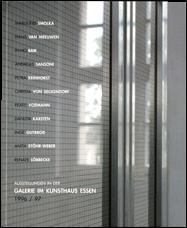 """"""" Ausstellungen im Kunsthaus Essen""""/1997 /Hrsg.:Kunsthaus Essen/ Text Bärbel Massing / ISBN 3-931201-08-2"""