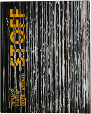 """Stoff"" – Malerei, Plastik, Installation/2002/Hrsg.: Veronika Mertens (Galerie Albstadt)/Text: Veronika Mertens (Galerie Albstadt)/ISBN 3-934439-17-9"