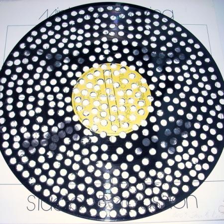 """""""0"""", 1999, LP durchbohrt, ∅30cm"""